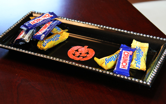 Cute and Custom Candy Tray