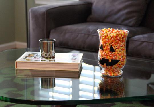 Halloween Candy Jar Craft