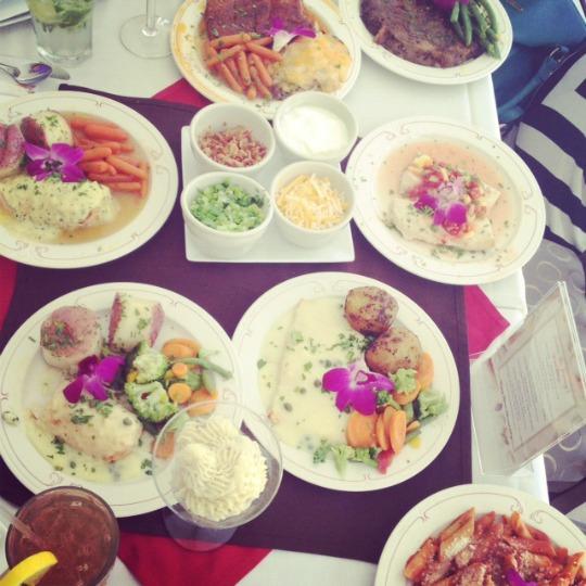 wedding food tasting