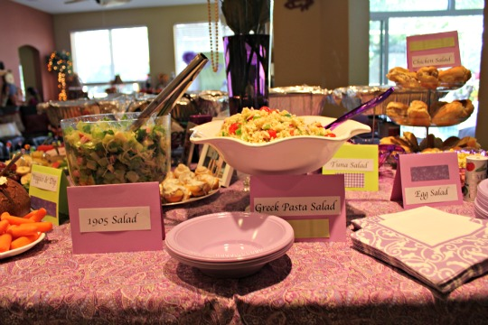 kentucky derby bridal shower food