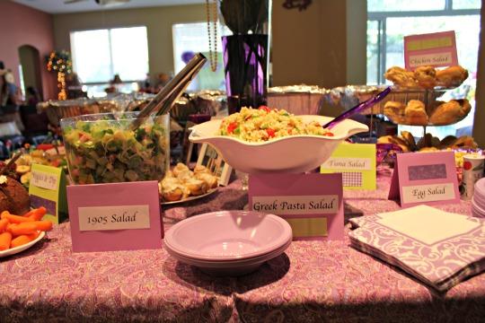 Kentucky Derby Bridal Shower Food