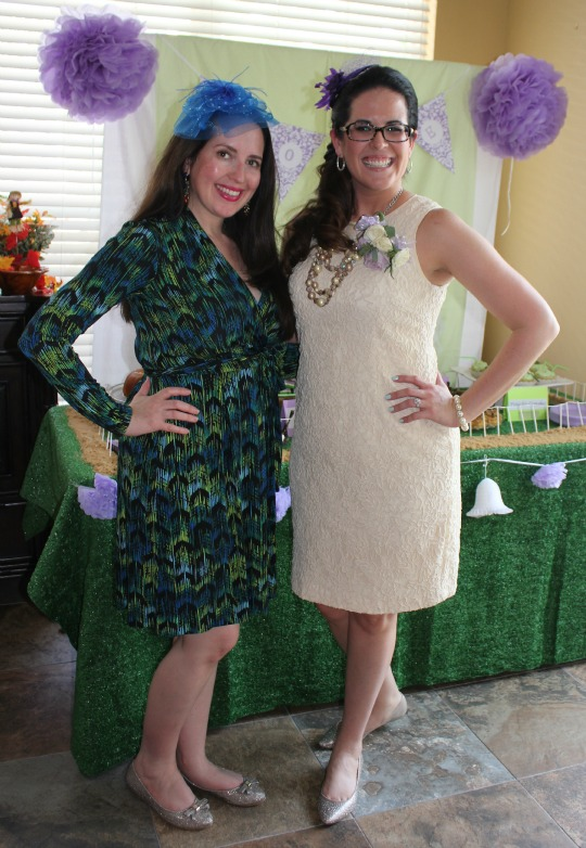 the bride to be and me