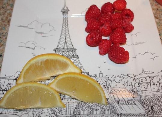raspberry lemonade and tea mocktail