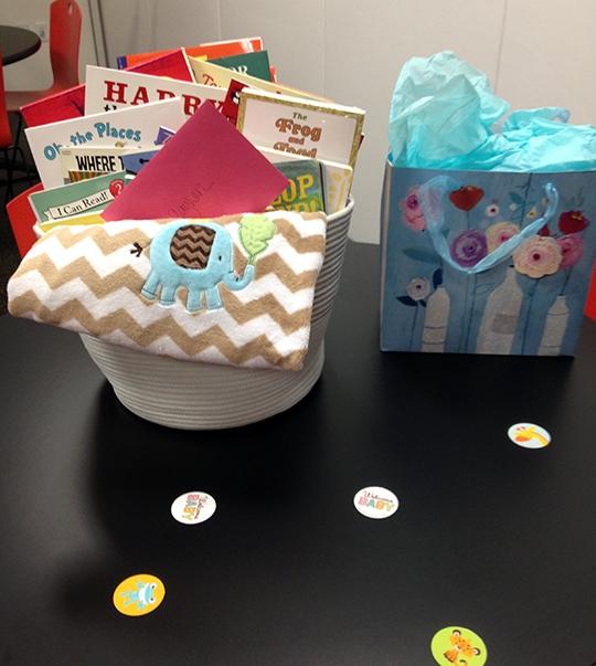 Baby Book Basket