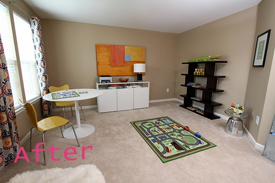 After Modern Playroom