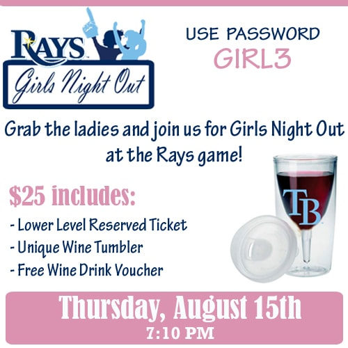 rays, girls night out, the trop