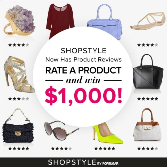 shopstyle, review a product, rate a product, shopstyle review feature, shopstyle reviews