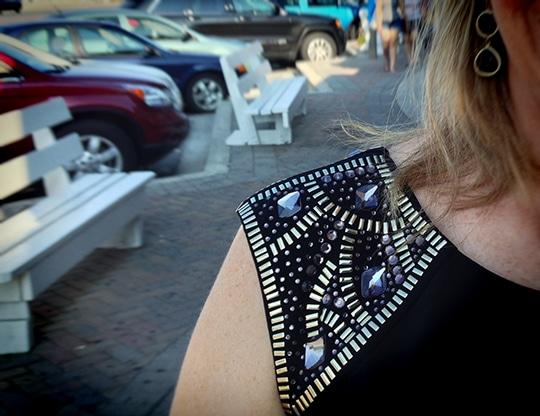 wedding guest style, wedding guest fashion, little black dress