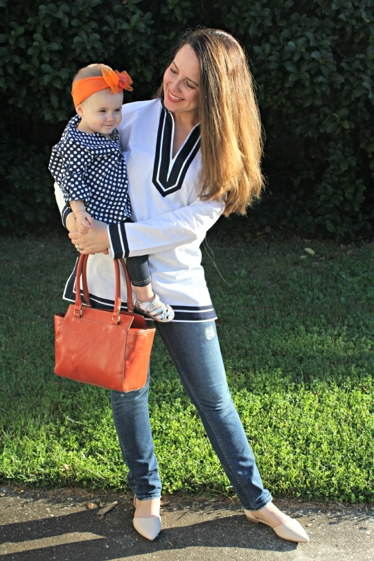 mommy and me fashion, mommy and me tunics, pumpkin