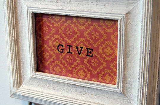 Easy Thanksgiving Wall Hanging