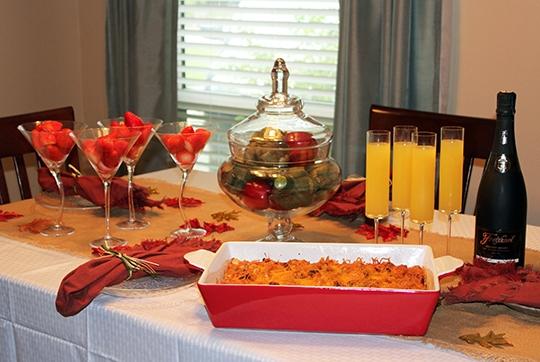 freixenet, sparkling wine, mimosas, brunch, breakfast casserole, pre holiday brunch