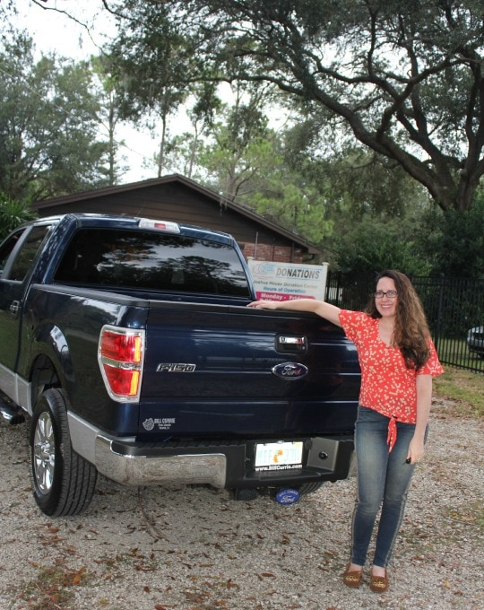 ford f-150, random acts of f-150, giving back