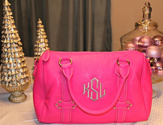 initials inc, personalized bags, monogrammed bag, personalized gifts
