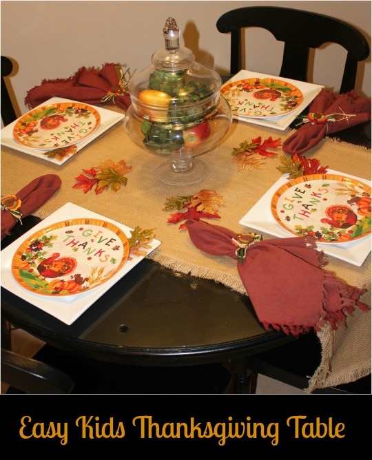 kids thanksgiving table, thanksgiving tablescape, easy thanksgiving centerpiece, cost plus world market