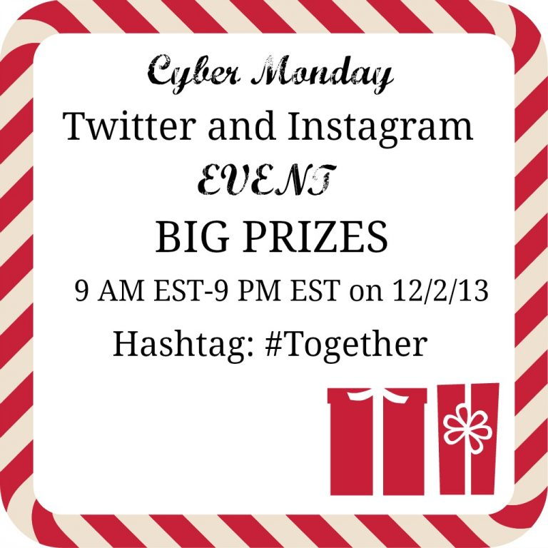 Lands' End's Cyber Monday 12 Hours of #Together Instagram and Twitter Events with Prizes