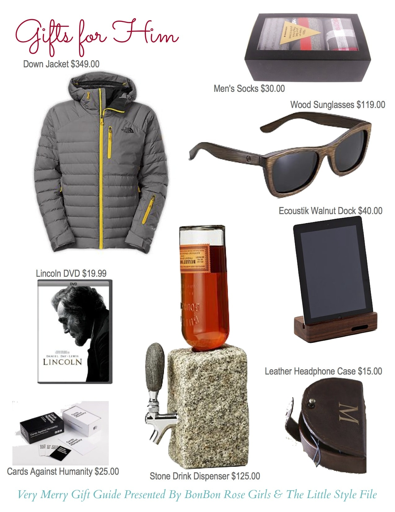 gift ideas for him, holiday gift ideas for him, holiday gift ideas