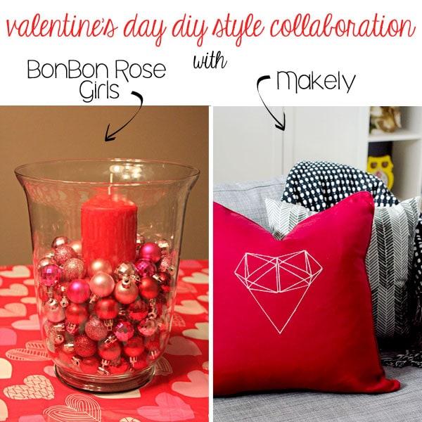 Easy DIY Valentine's Day Centerpiece