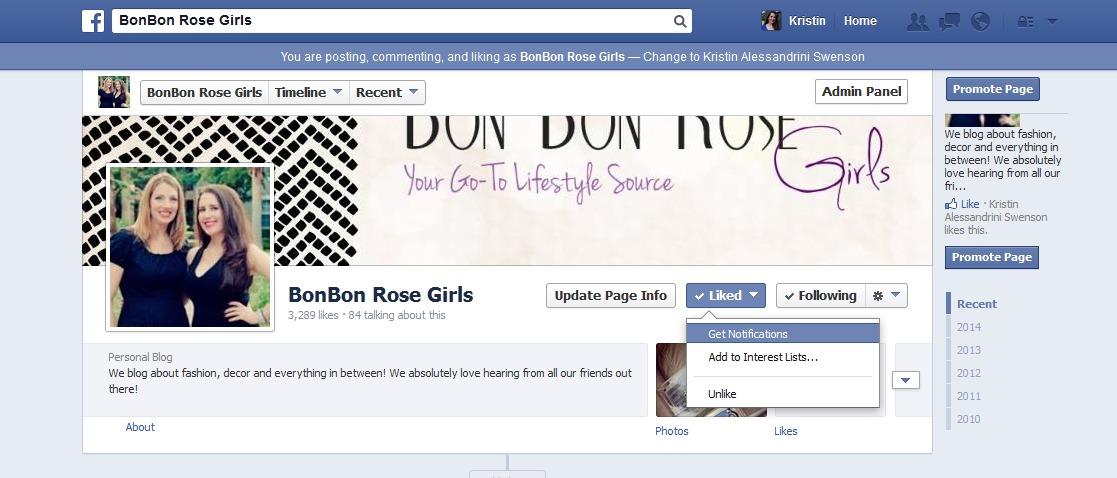 facebookupdates
