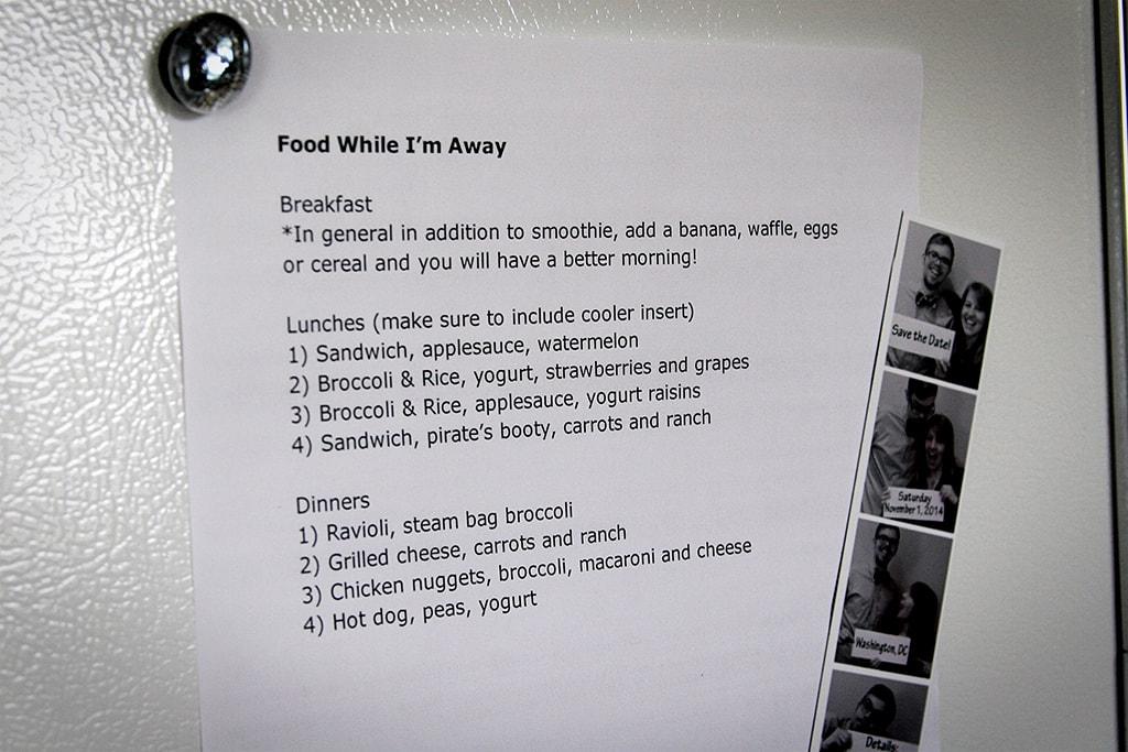 food list