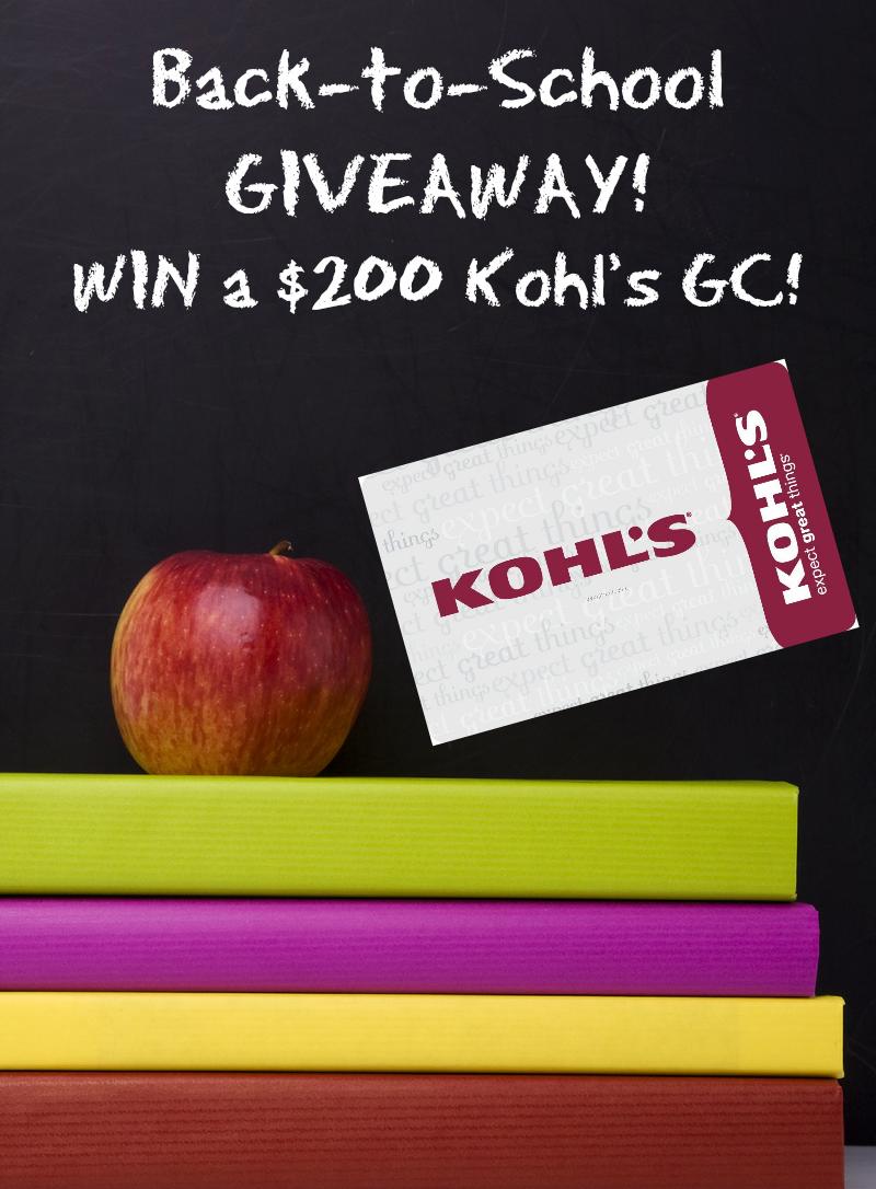 kohls giveaway