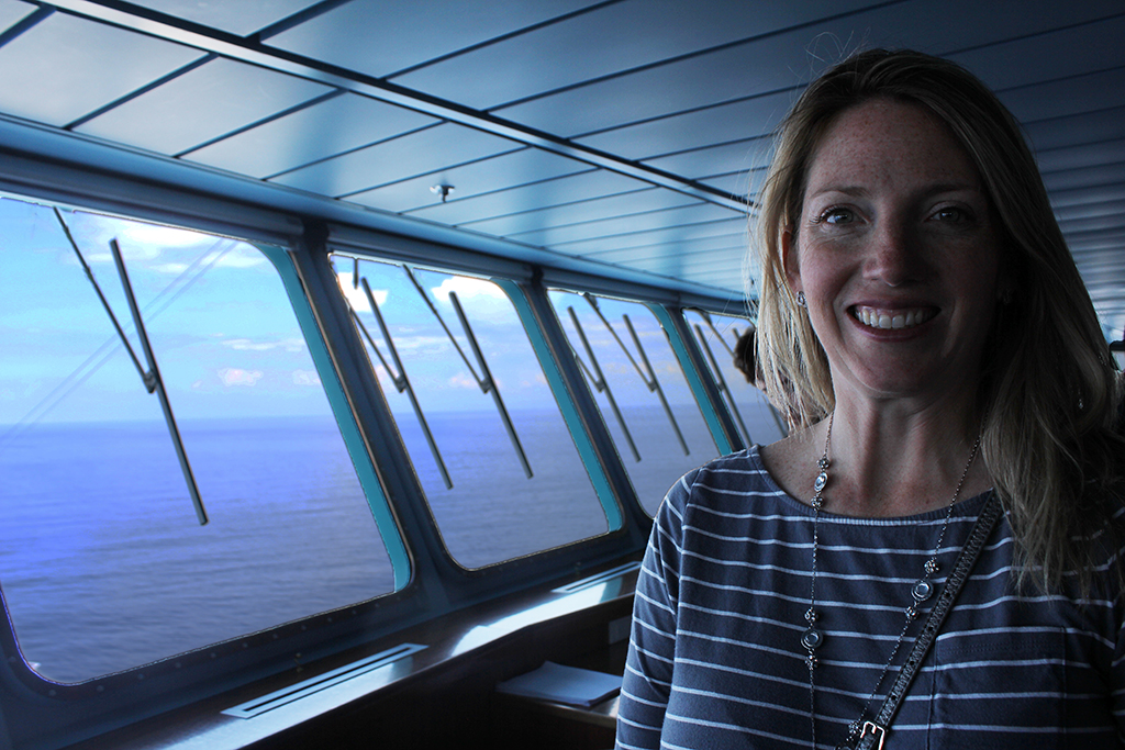 Royal Caribbean Bridge Tour