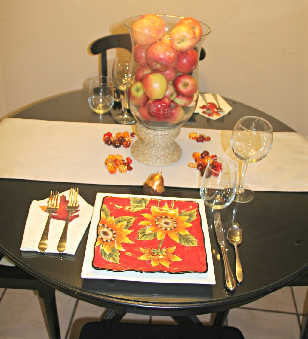 Easy Fall Centerpiece - BonBon Rose Girls