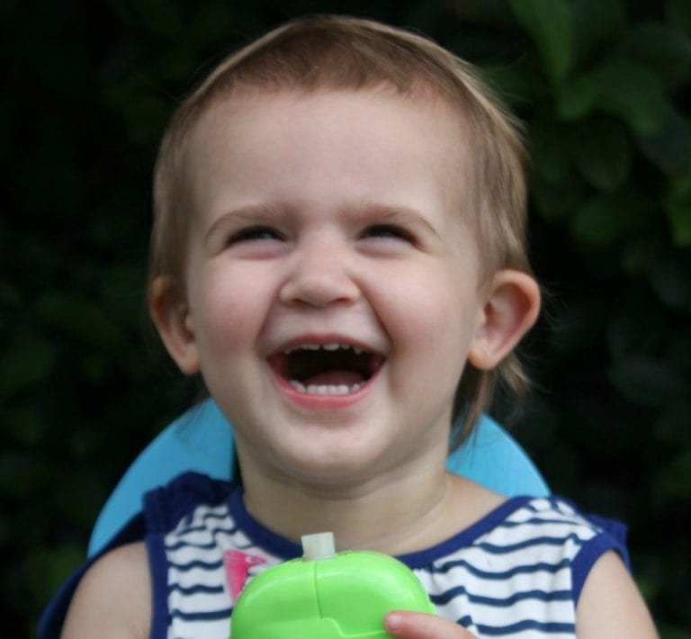 Self Feeding with EasyPouch: Baby Food Doesn't Have to Be Messy