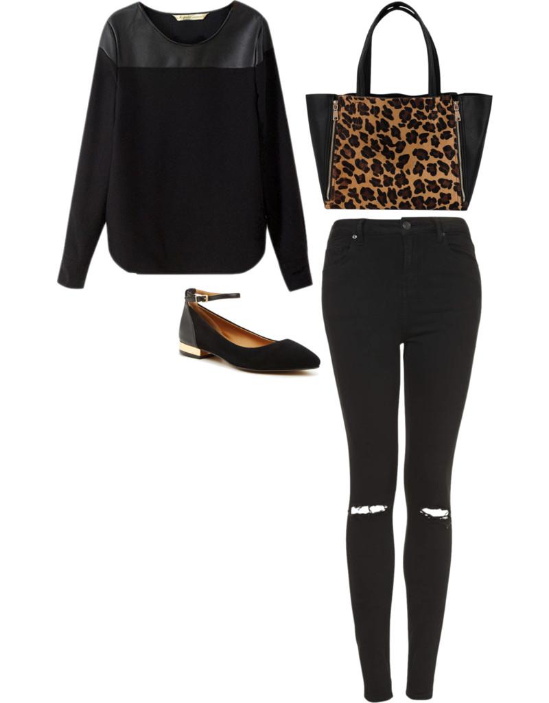 leopard for fall - BonBon Rose Girls