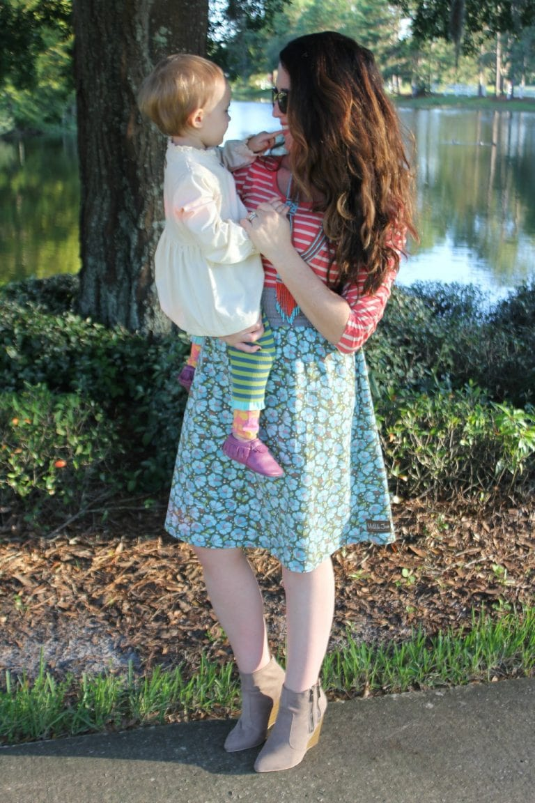 Monday Mingle: Mommy and Me Fall Looks