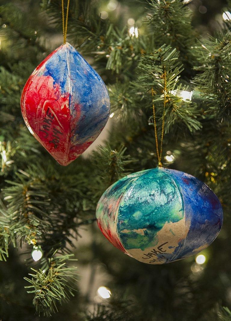 DIY Ornaments for Grandparents