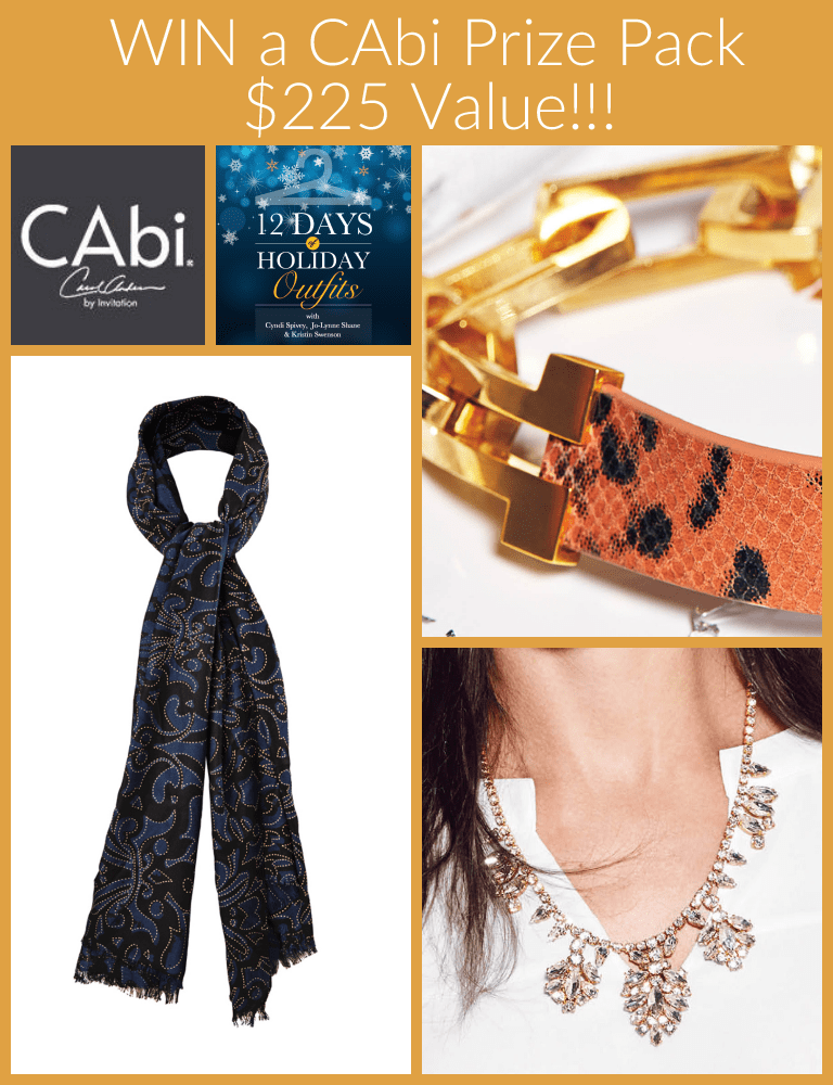 CAbi Holiday Accessories Giveaway