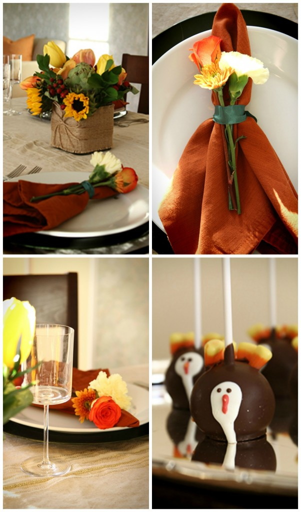 happy thanksgiving tablescape