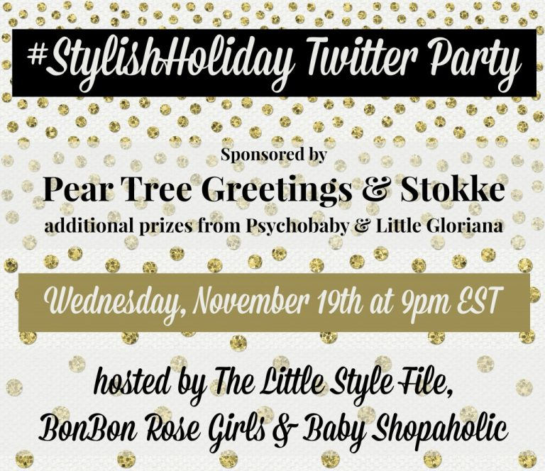#StylishHoliday Twitter Party on 11/19