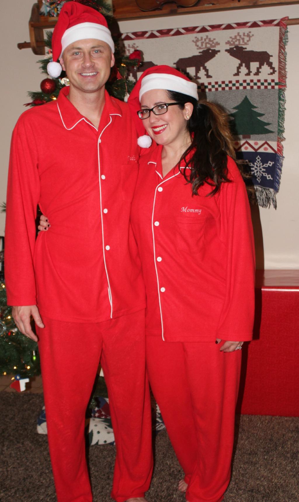 matchingchristmasjammies