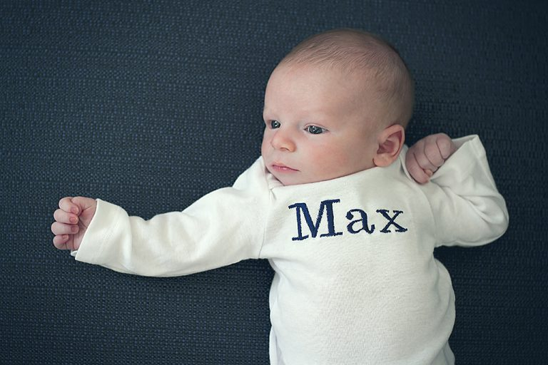 Welcoming Baby Max with a Newborn Photo Shoot