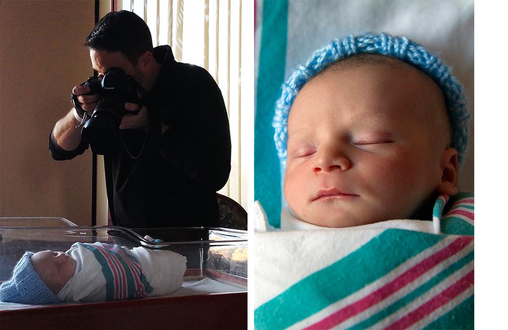 newborn natural light