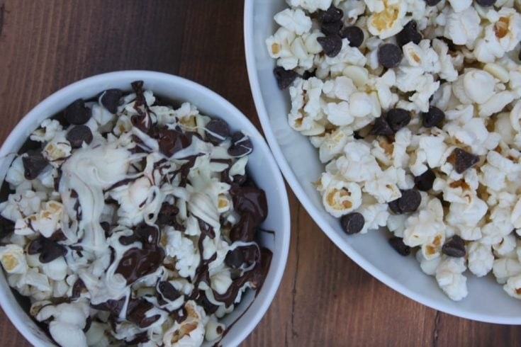 Black and White Popcorn Recipe