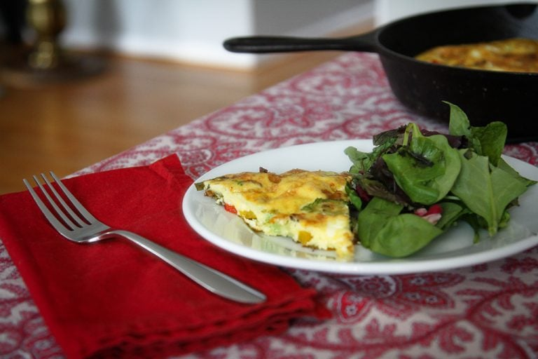 A Frittata Worthy of Easter Brunch