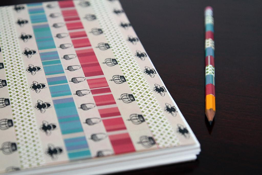 DIY Washi Tape Journal