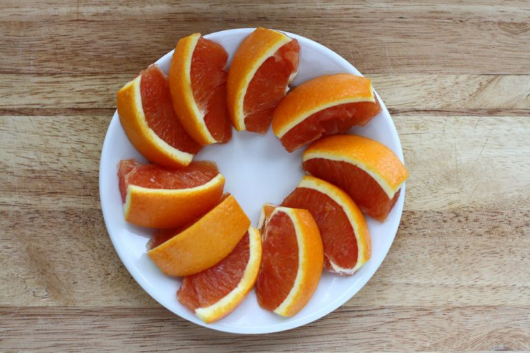 How to Cut No Mess Orange Slices