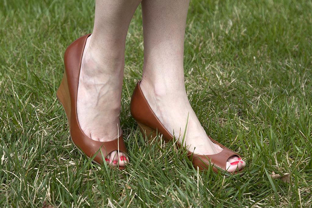 Talbots Wedge Shoes