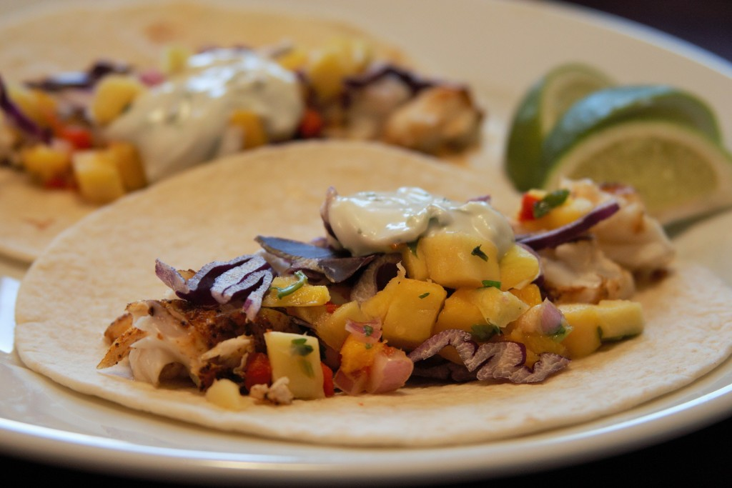 Fish Tacos in Detail