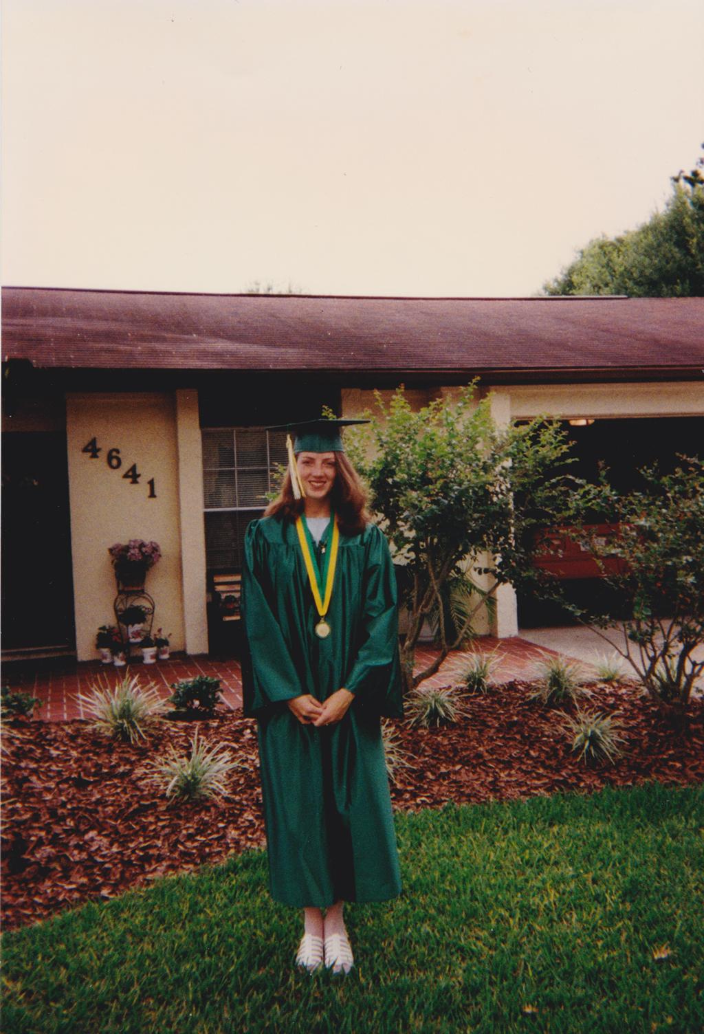 Megan HS Graduation