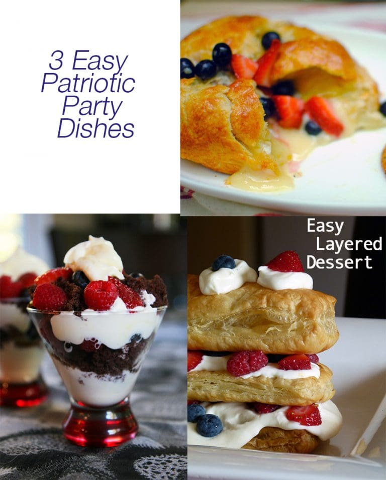 Weekend Ready Desserts: Patriotic Party Recipes