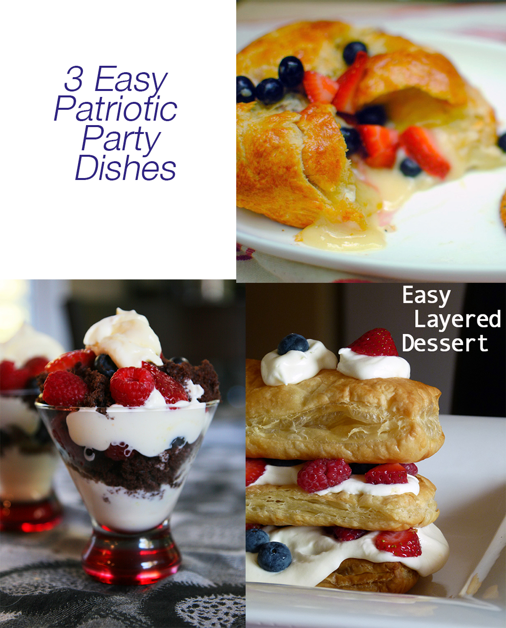 Patriotic Party Dishes