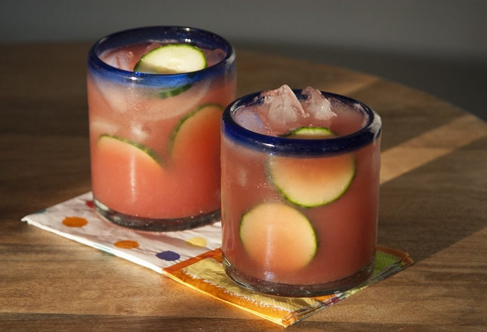 Watermelon Cucumber Margarita