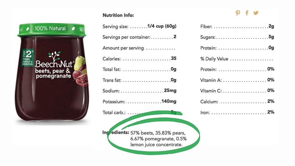 Beech-Nut Label