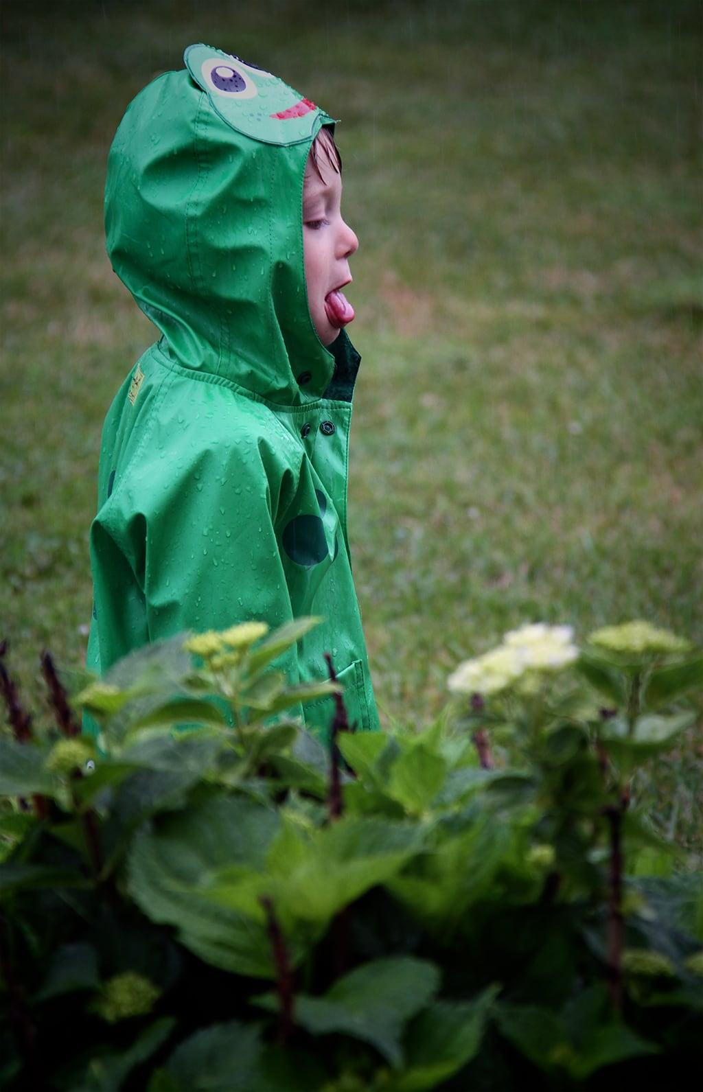 Jake in Rain