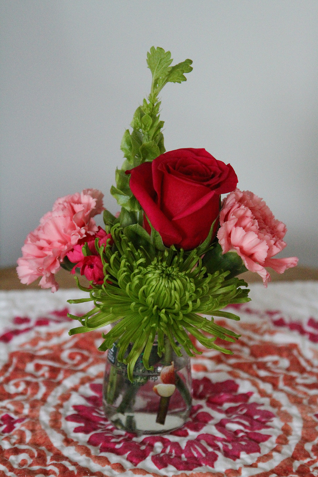 Recycled Baby Jar Vase