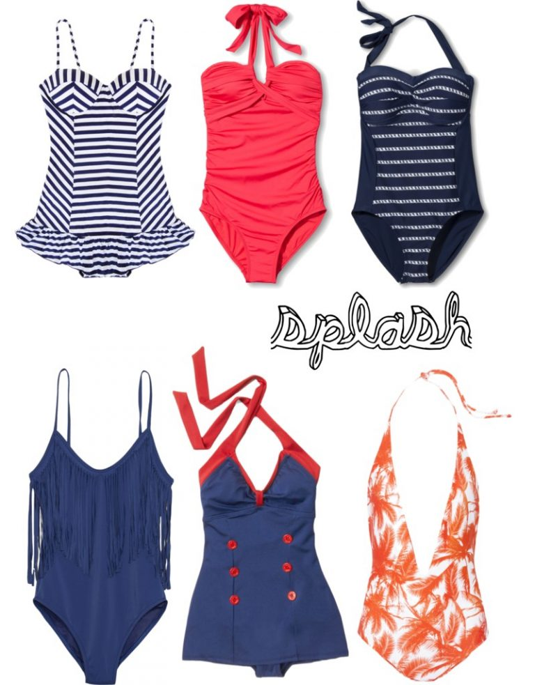 Vacation Must Have: One Piece Swimsuits